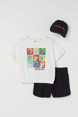 H&M Girls Sets - 3-piece printed set