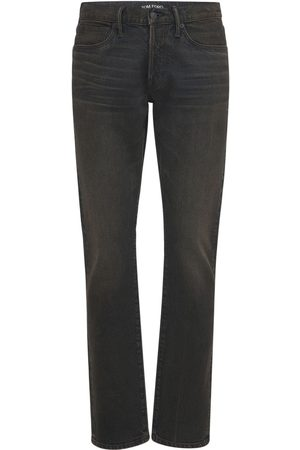 Tom Ford Men Slim - Slim Fit Japanese Denim Jeans