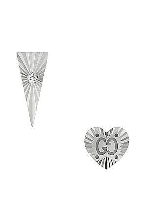 Gucci Icon Diamond Earrings in
