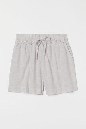 H&M Linen-blend pyjama shorts