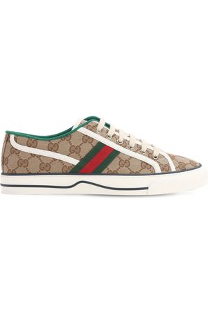 Gucci 10mm Tennis 1977 Canvas Sneakers