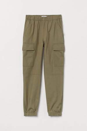 H&M Girls Cargo Trousers - Cotton cargo trousers
