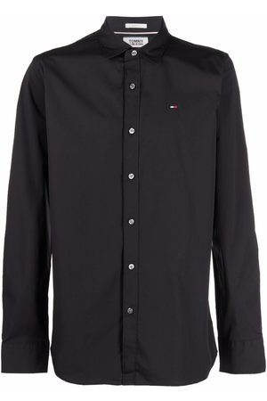 Tommy Hilfiger Embroidered-logo button-up shirt