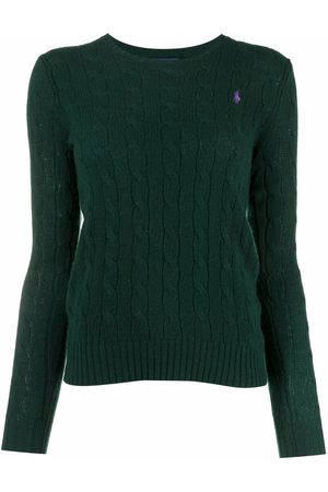 Polo Ralph Lauren Women Polo Shirts - Polo Pony cable-knit jumper