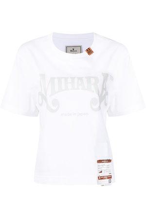 Maison Mihara Yasuhiro Logo print T-shirt