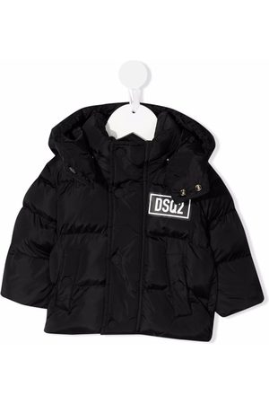 Dsquared2 Kids Hooded padded jacket