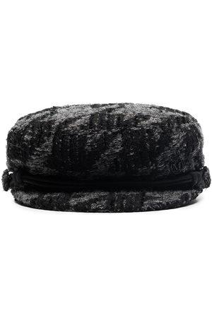 Le Mont St Michel Abby tweed baker boy hat