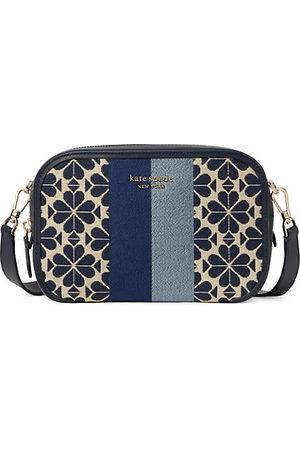 Kate Spade Handbags - Medium Flower Jacquard Stripe Camera Bag