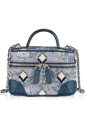MCM Vintage Jacquard Crossbody Bag