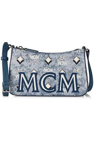 MCM Women Handbags - Mini Vintage Jacquard Shoulder Bag