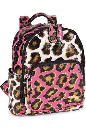 Bari Lynn Cheetah Print Mini Backpack