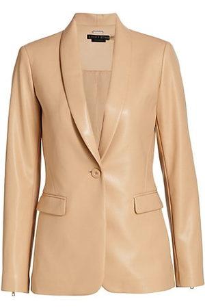 Alice + Olivia Women Leather Jackets - Macey Faux Leather Jacket