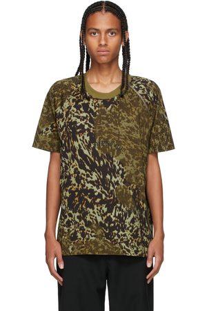 Men Short Sleeve - Givenchy Black & Khaki 4G Mashup T-Shirt