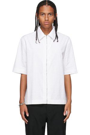 Men Short sleeves - Givenchy Zip Logo Short Sleeve Shirt