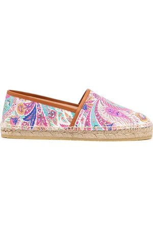 Etro Women Casual Shoes - Paisley-print espadrilles
