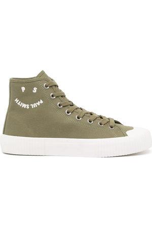 Paul Smith Men Sneakers - High-top logo baseball-boots