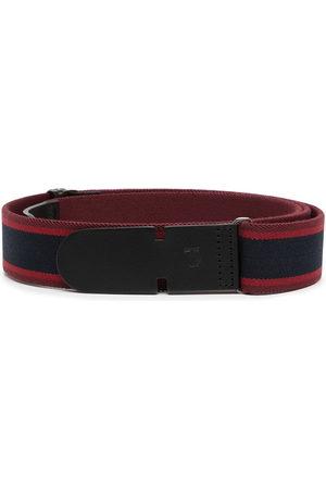 Tod's Stripe-detail snap-fit belt