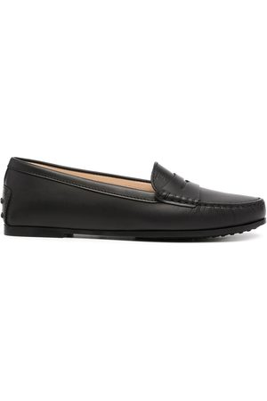 Tod's Women Loafers - Round-toe polished-finish loafers