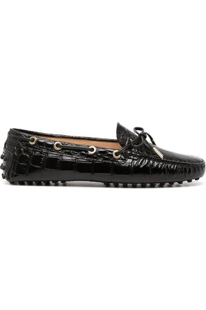 Tod's Gommino bow detail loafers