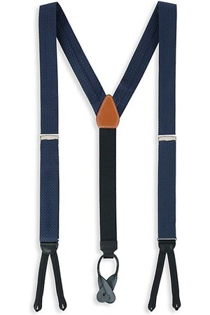 Trafalgar Men Neckties - Adjustable Silk Patterned Suspenders