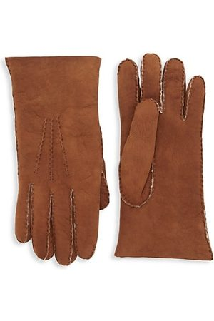 Saks Fifth Avenue Men Gloves - COLLECTION Shearling Gloves