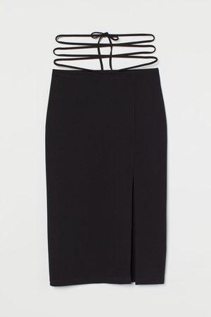 H&M Women Skirts - Tie-detail skirt