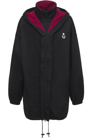 Isabel Marant Isla Logo Tech & Cotton Short Jacket