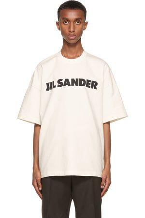 Men Short Sleeve - Jil Sander Off-White Logo T-Shirt