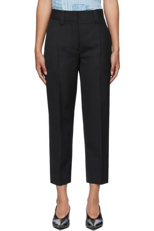 Women Formal Trousers - Acne Studios Wool Tapered Trousers