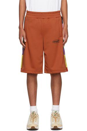 Men Shorts - Palm Angels Orange Missoni Edition Track Shorts