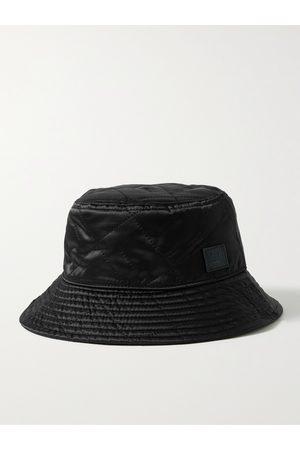 Acne Studios Men Hats - Logo-Appliquéd Quilted Shell Bucket Hat