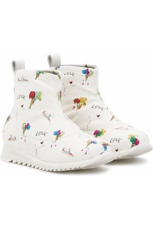 Giuseppe Zanotti Frosty ankle sneaker boots