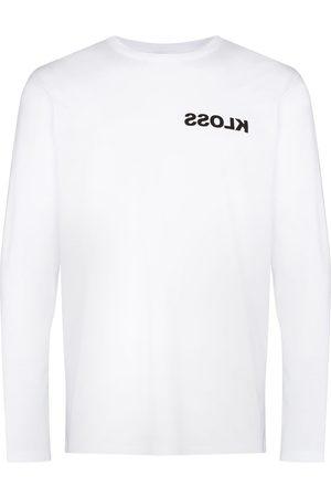 KLOSS Long Sleeve - X Browns Warped-logo T-shirt
