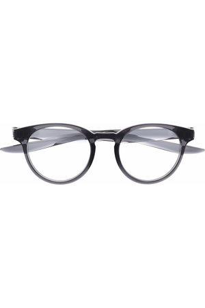 Nike Logo round-frame glasses