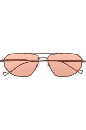 Emporio Armani Square aviator sunglasses