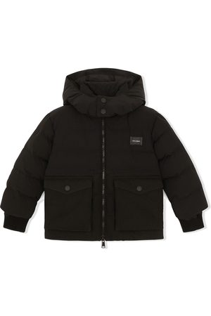 Dolce & Gabbana Padded hooded coat
