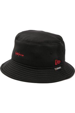 YOHJI YAMAMOTO Logo-embroidered bucket hat