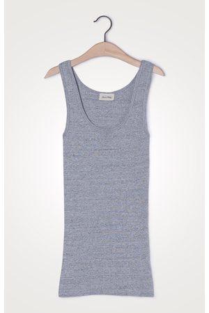 American Vintage Grey Vest Top