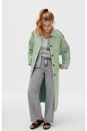 American Vintage Ooklaoma Trench Jade XS/S