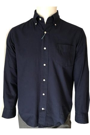 GANT Men T-shirts - Evening Royal Oxford Hugger Fit Shirt 3029130