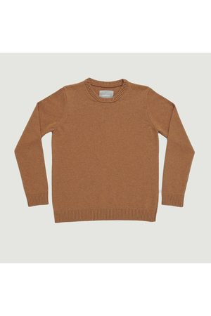 Organic Basics Recycled Wool Knit Camel