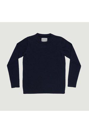 Organic Basics Recycled Wool Knit Navy