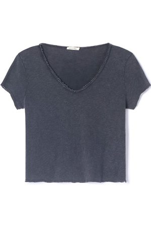 American Vintage Sonoma V-Neck T-Shirt - Vintage Black