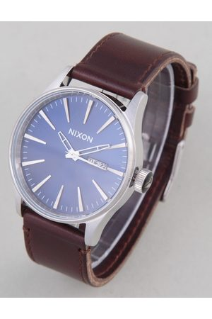 Nixon Watches - Sentry Leather Watch - /Brown Colour: /Brown