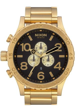 Nixon Men Watches - 51-30 Chrono Watch - All Gold/ ONE SIZE, Colour: All Gold/