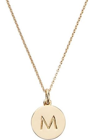 Kate Spade New York Gold-Plated Initial Pendant Necklace