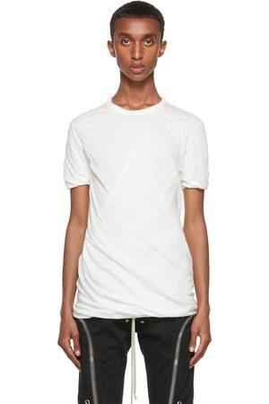 Rick Owens White Double Short Sleeve T-Shirt