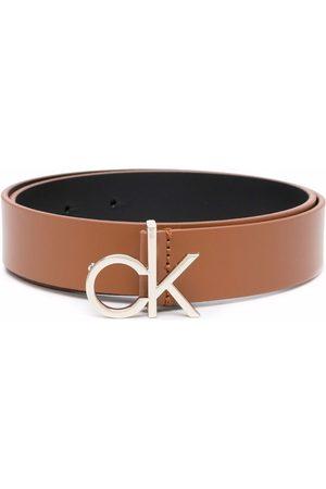 Calvin Klein CK logo 30mm belt