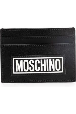 Moschino Men Wallets - Logo-print cardholder