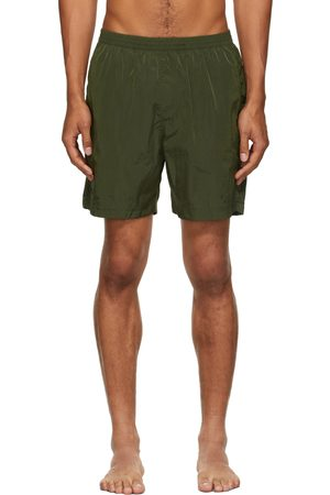 True Tribe Khaki Neat Steve Swim Shorts